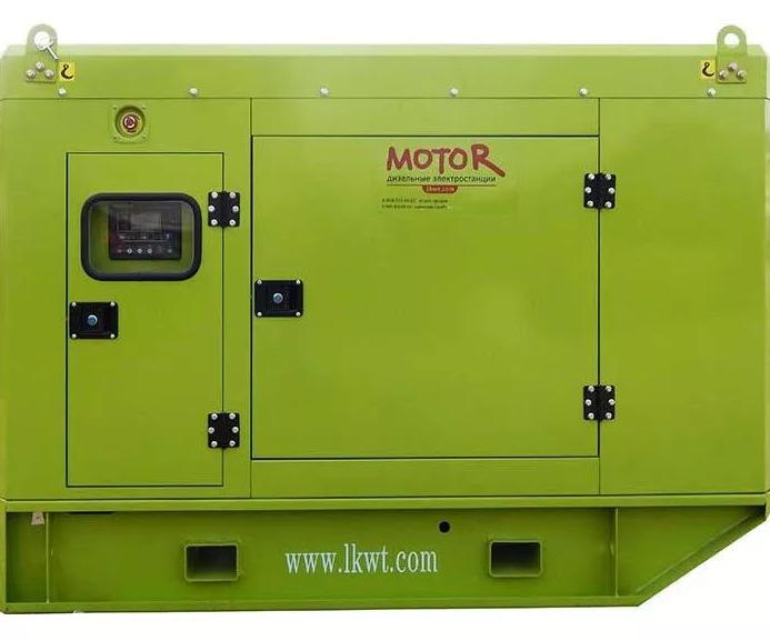 Дизель 50 кВт в кожухе с АВР, подогрев охлаждающей жидкости, с контроллером