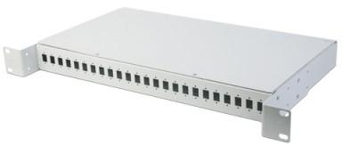 Кроссовое распределительное устройство на 24 SC портов